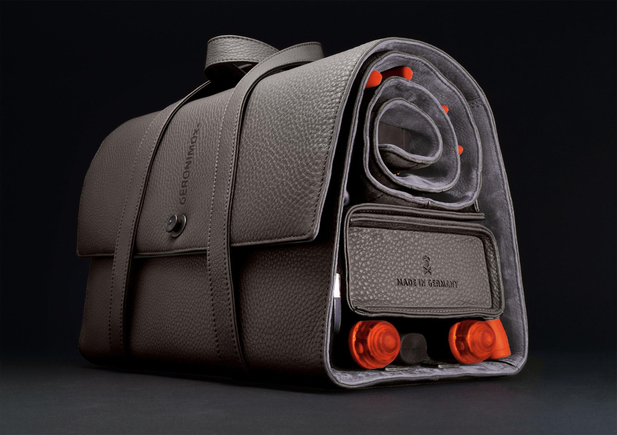 GERONIMOX – Die luxuriöse Werkzeugrolle für den Mann mit Stil.