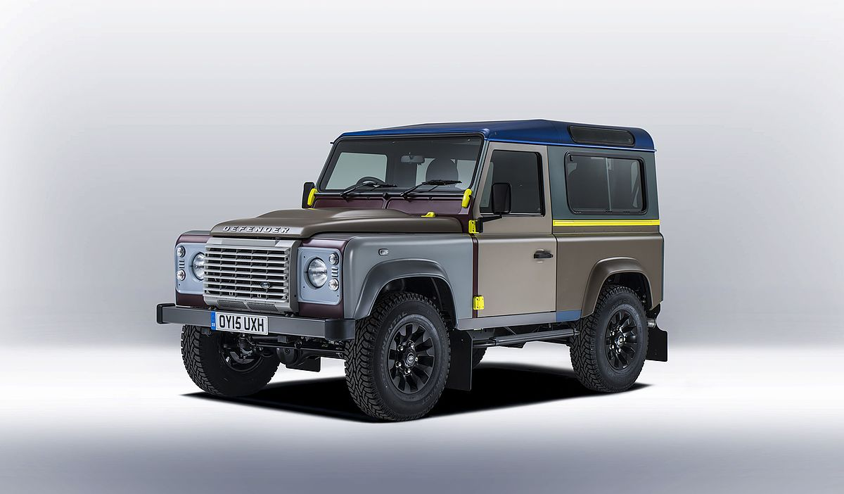 Paul Smith und der Land Rover Defender