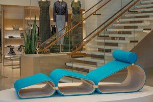 Louis Vuitton Long Chair marcel wanders