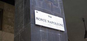 Via Montenapoleone larusmiani