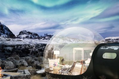 glamping bubble doms