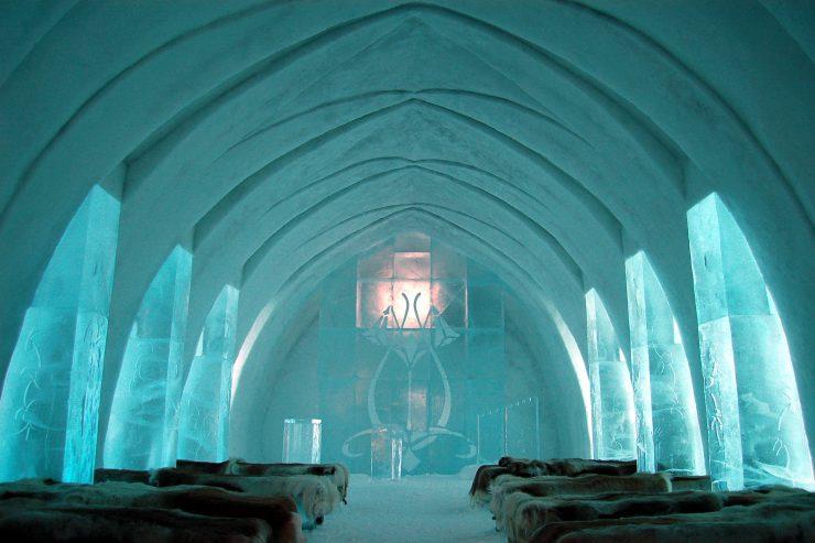 ice hotel sweden