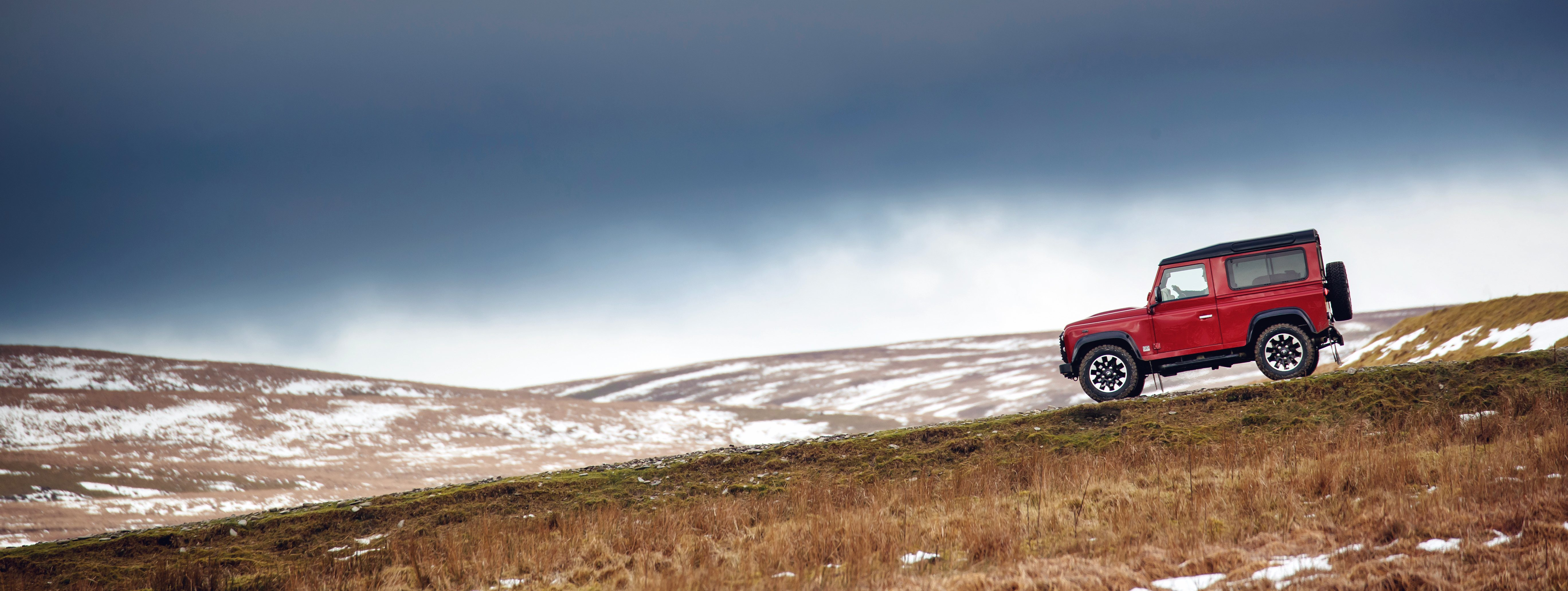 Comeback für den Defender! Land Rover präsentiert V8 Sonderedition