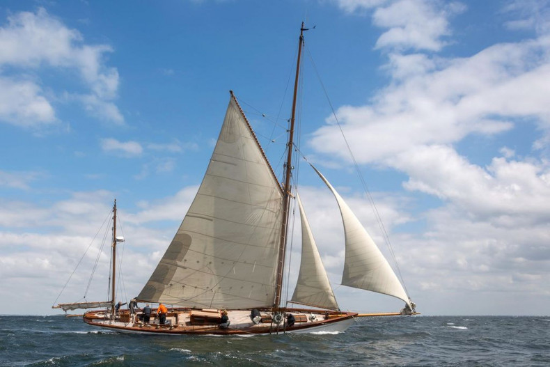 85' Classic Gaff rigged Yawl from 1890