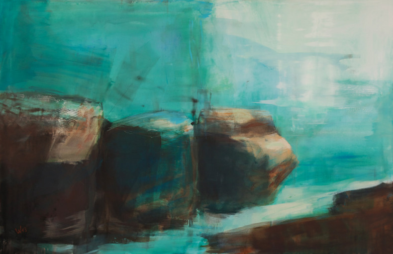 """barrier"" Gemälde"