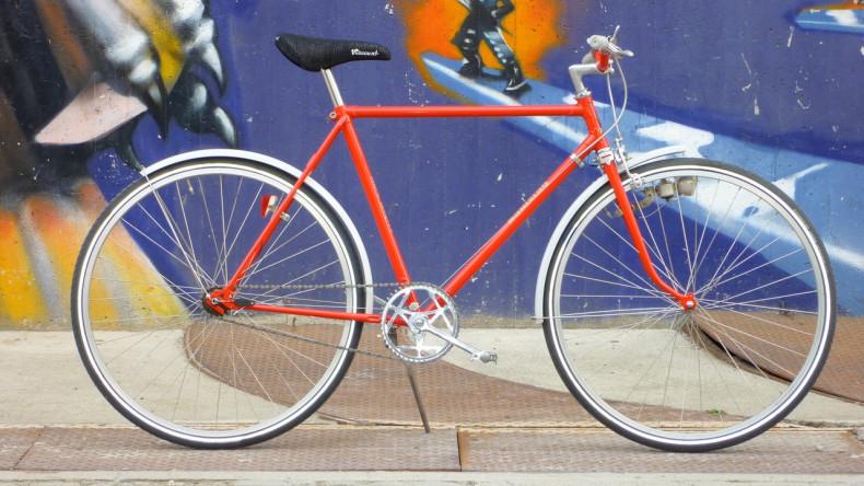 Fahrrad Buck Rogers - RAKETE