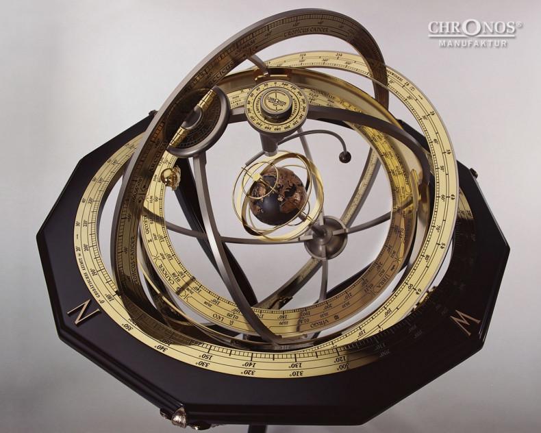 Armillarsphäre - Das Messinstrument der großen Astronomen - CHRONOS Manufaktur