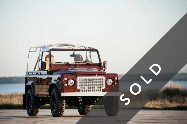 LAND ROVER Defender 90 BROWN-sold