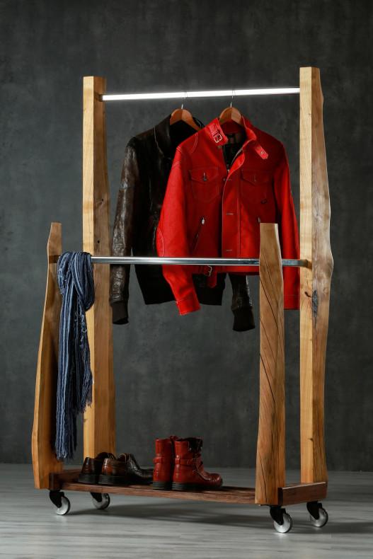 Dreher Design Kleiderständer Wald mit Deko