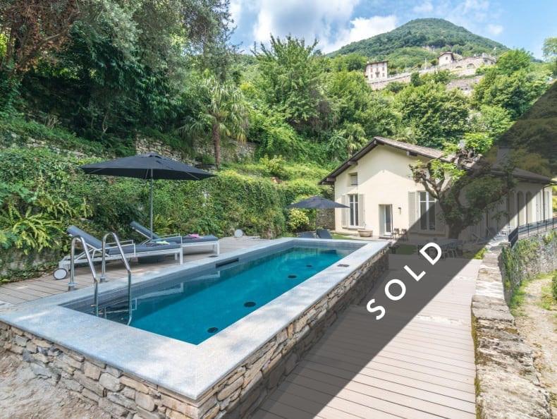 Elegante Villa mit Blick auf den Comer See, Carate Urio Italien