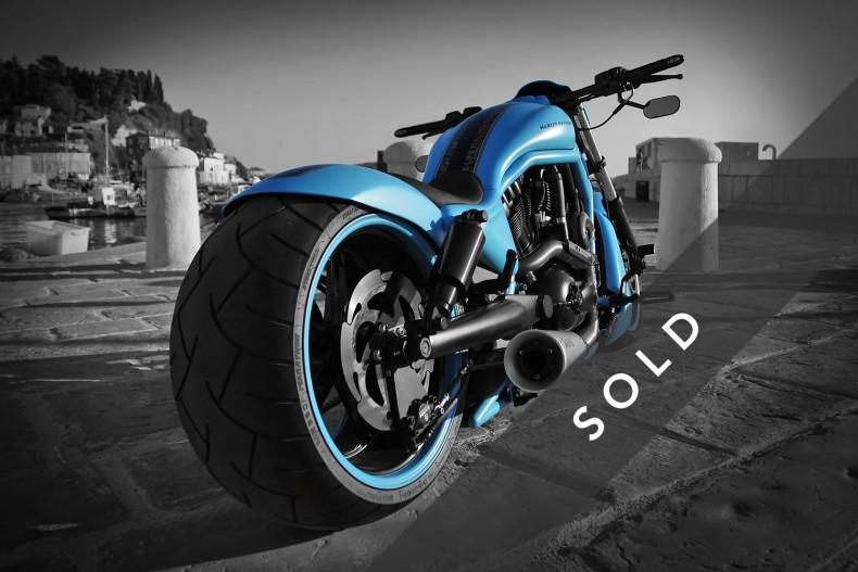 """Harley-Davidson """"V-Rod"""" klein"""