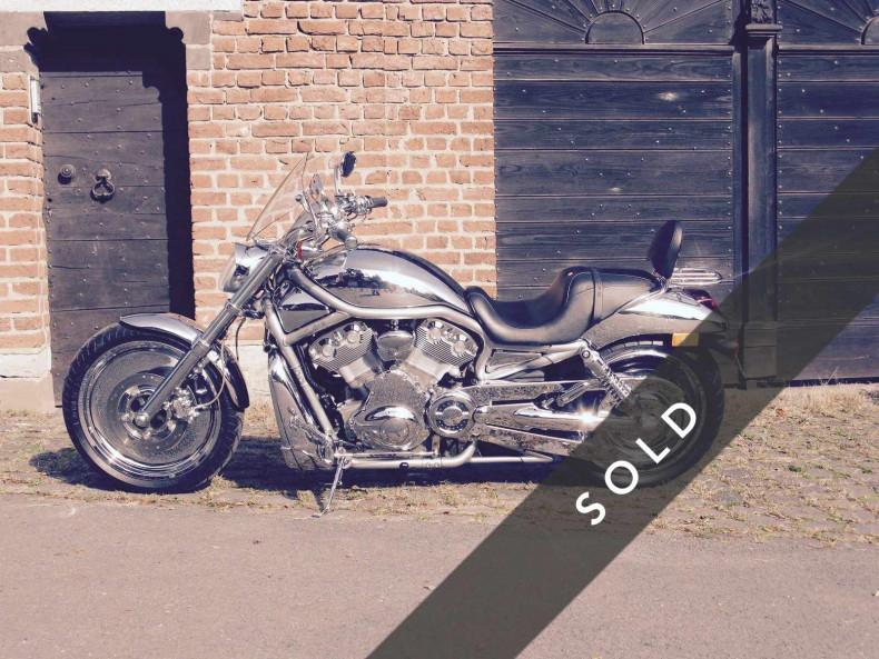 Harley Davidson V-Rod von Michael Schuhmacher