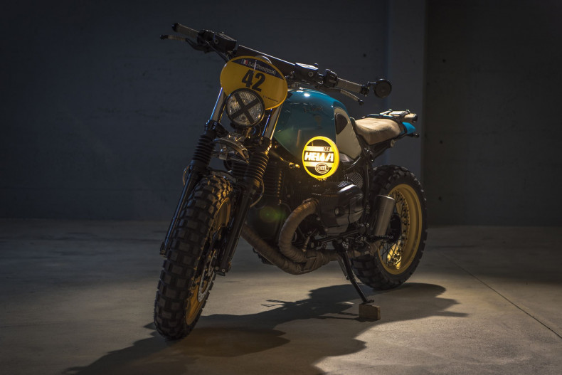 "BMW R NineT Scrambler ""Le Touquet"" - VTR Customs"