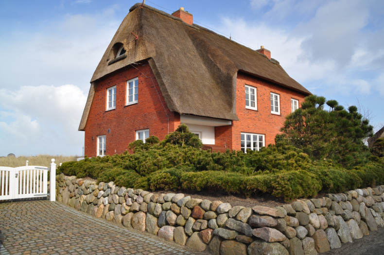 Charmante Haushälfte auf Sylt