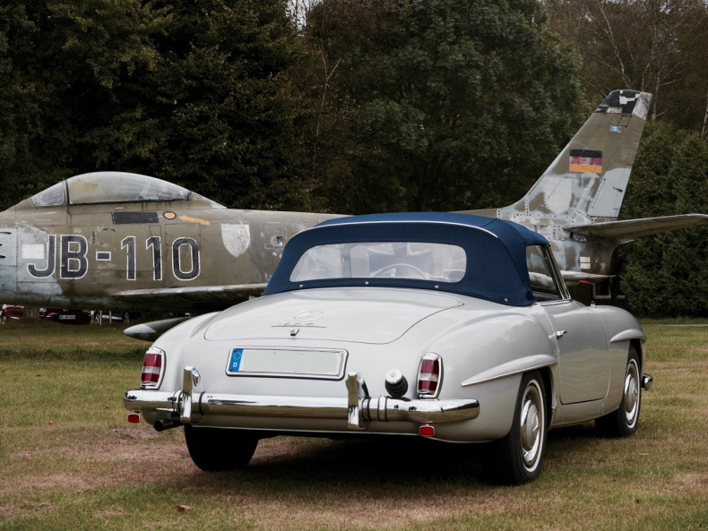 Mercedes 190 SL im absoluten TOP ZUSTAND bei UNIKATOO