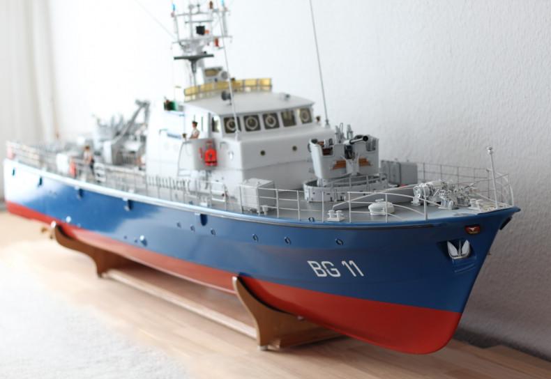 "Modellbau Bundesgrenzschutz See Neustadt ""BG 11"""