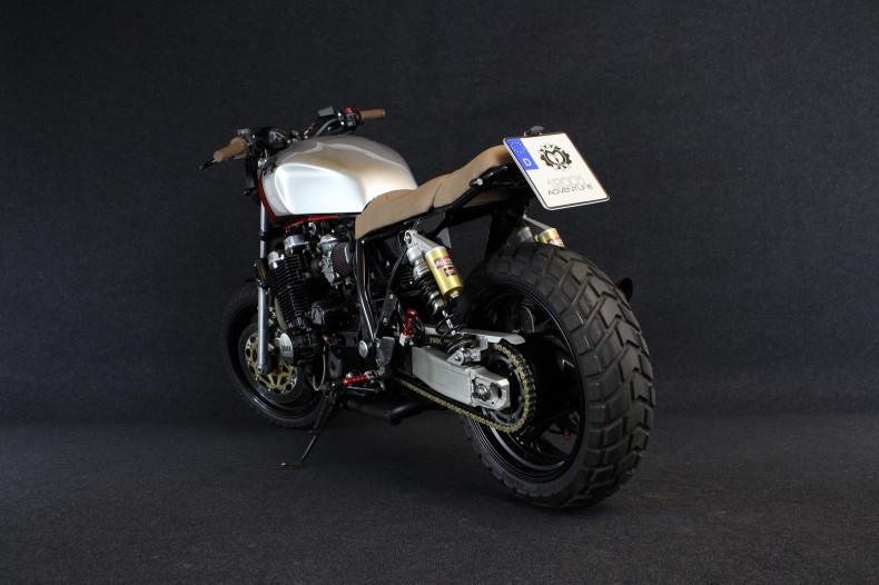 Yamaha xjr1200 Umbau Scrambler