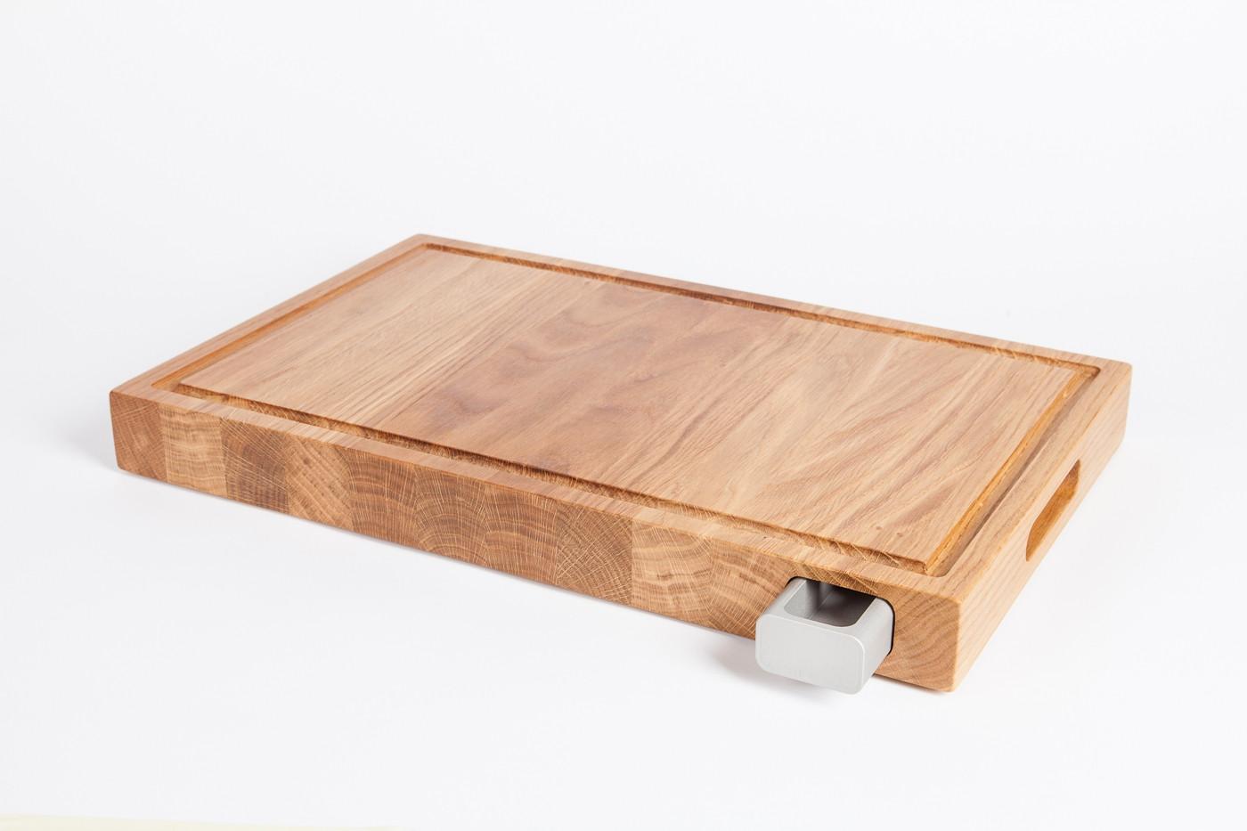 einzigartiges mit stil profi schneidebretter mit saftschublade bei unikatoo. Black Bedroom Furniture Sets. Home Design Ideas