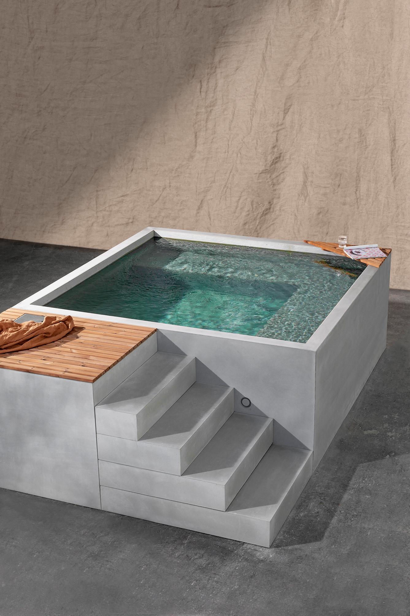 Einzigartiges mit Stil Schlicht und elegant unser Mini Pool SALAM ...