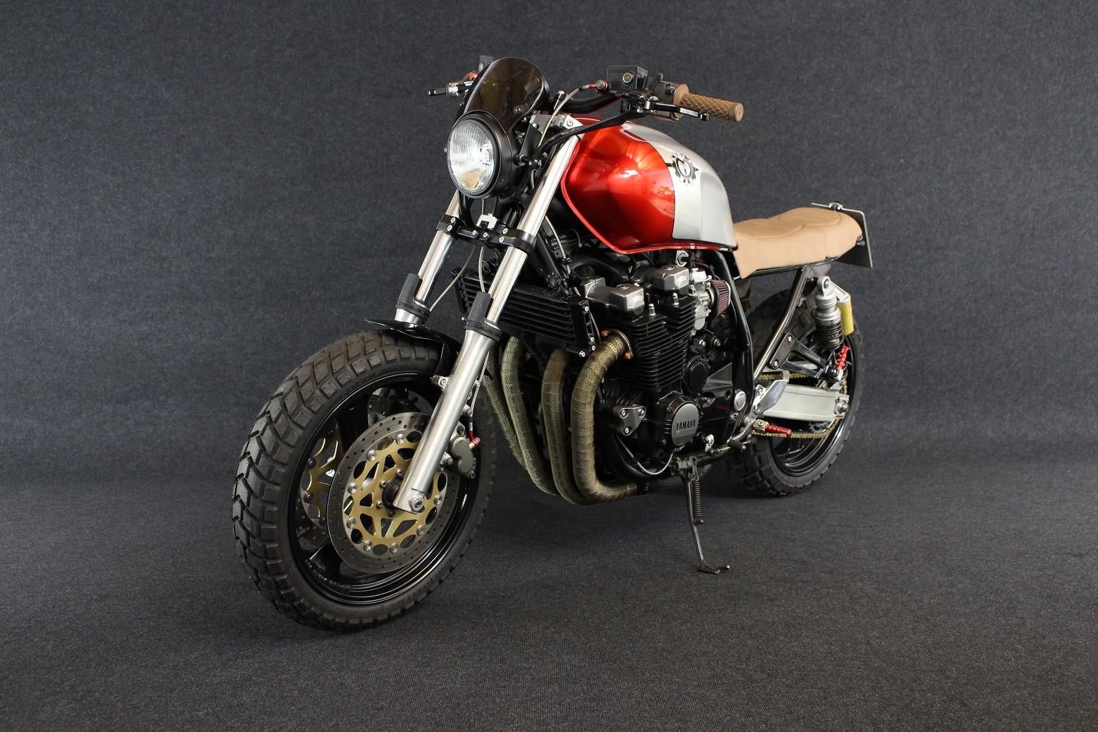 Einzigartiges mit Stil: Yamaha xjr1200 Umbau Scrambler bei ...