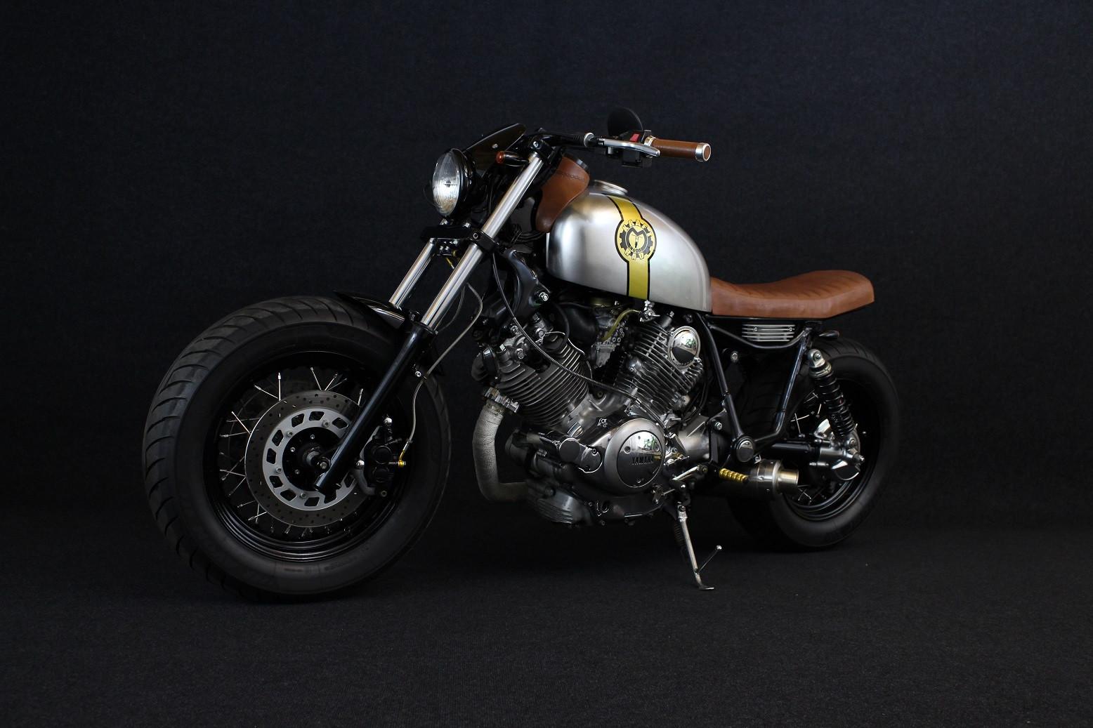 Einzigartiges mit Stil: Yamaha Virago 1100 Umbau auf Cafe Racer ...
