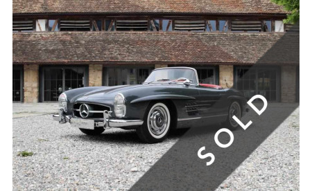 300 SL Roadster - 1960 - Graphitgrau