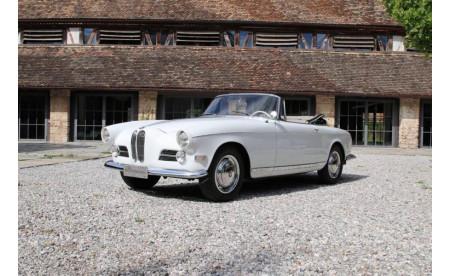 BMW 503 Cabriolet 1956 papyrusweiß