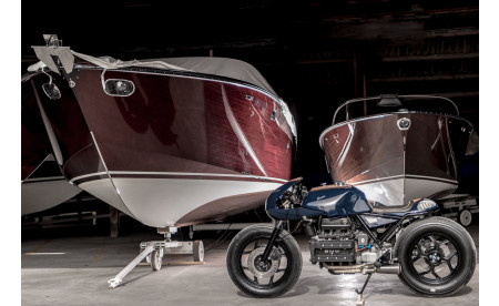 "BMW K100 RT ""BOES.CH"" - VTR Customs"