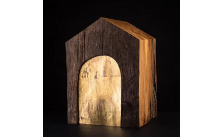 Urne - Plantanenholz Kupfer - Christian Masche