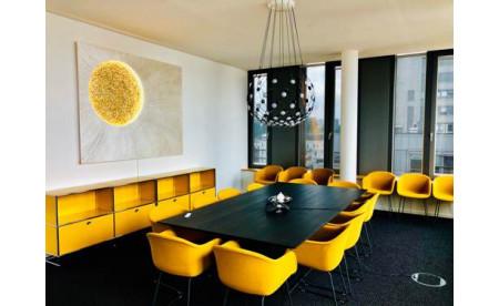 """Designobjekt """"Sonnenmond"""" by Kathrin Geller"""