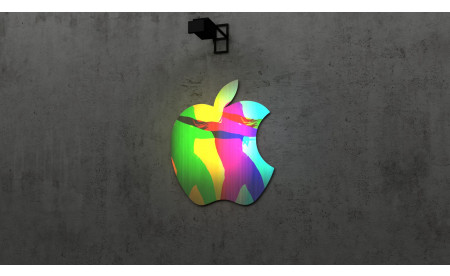 Apple 3D Lightobject