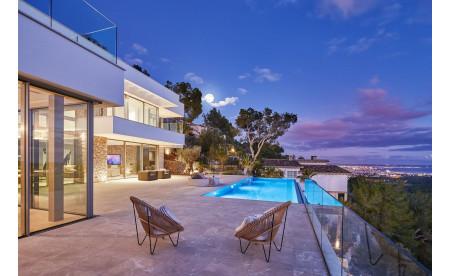 Neubau Luxusvilla in Son Vida – Perfektion bis ins kleinste Detail mit traumhaften Palma Blick