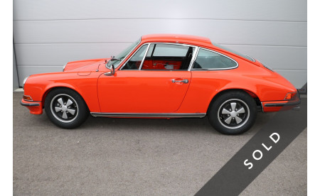 Porsche 911 911T COUPE 2.2 KOMPLETTRESTAURATION CLASSIC DATA