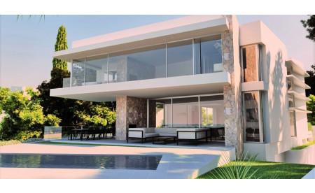 Luxus-Villa-Projekt in erster Meereslinie in El Toro / Port Adriano - Mallorca