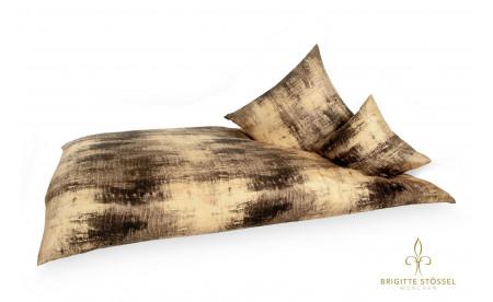 Seiden Bettwäsche Wood- Brigitte Stössel München