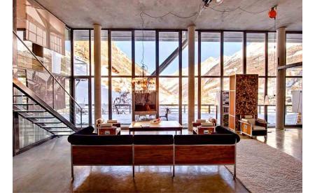 Designer-Loft in den Alpen