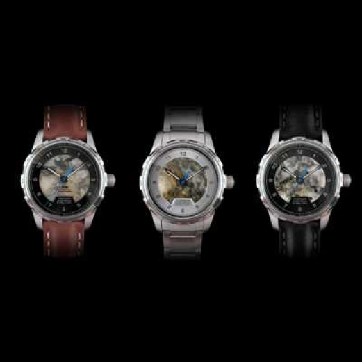 Montre une Jungfraujoch drei Farben Ansicht