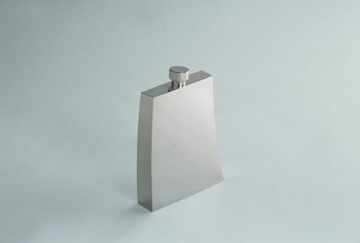 Flachmann - Silber klein