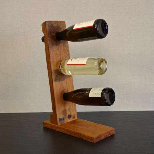 Weinflaschenständer für 3 Flaschen - Mirko Kunz