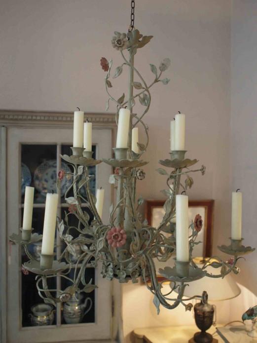 Floraler Deckenleuchter
