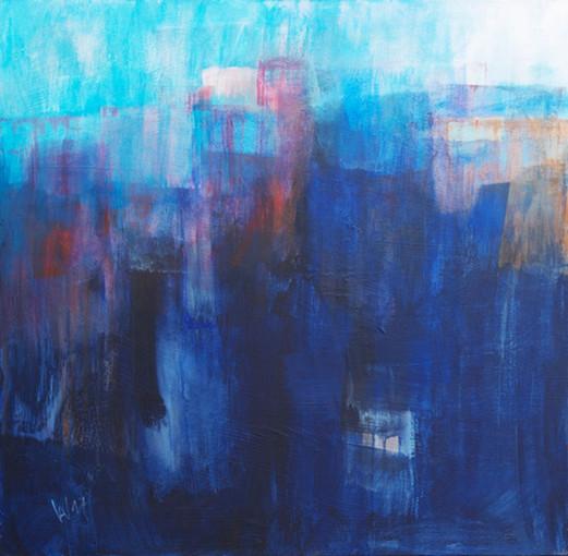 """Gemälde """"Segue 1"""" - Anja Witt"""