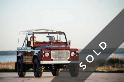 LAND ROVER Defender 90 BROWN-k-sold