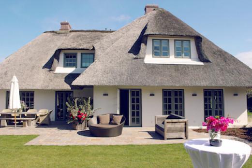 Reet-Villa auf Sylt