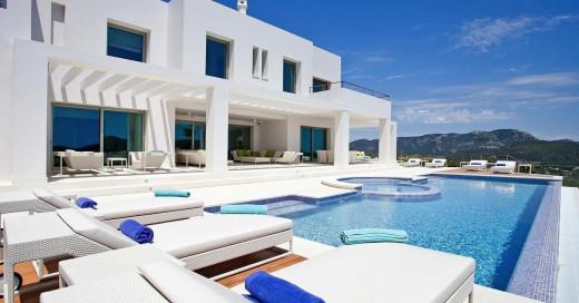 Spektakuläre Villa mit Rundblick und Gästehaus im Südwesten Mallorcas