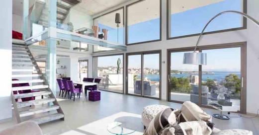 Luxuriöses Duplex Penthaus mit wunderbarem Meerblick in Cas Catala