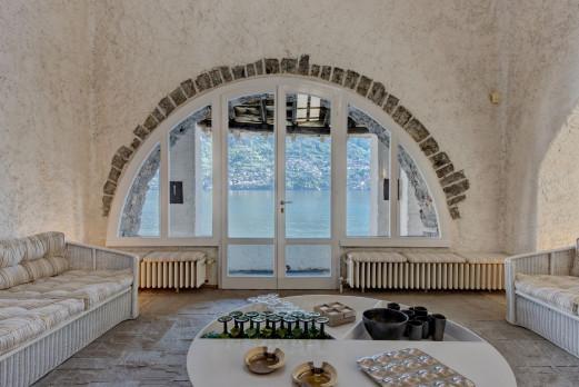 EINZIGARTIGE HISTORISCHE IMMOBILIE MIT SEEZUGANG Comer See, Brienno, Italien