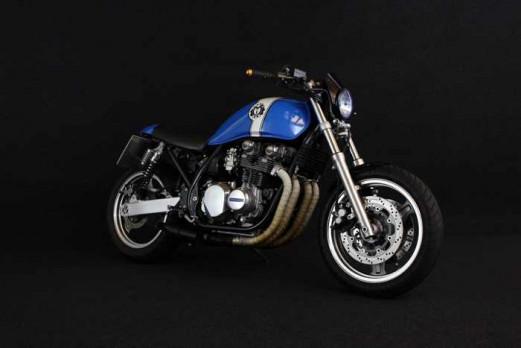 Kawasaki Zephyr 750 Umbau auf Cafe Racer - k