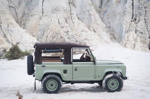 Land Rover D90 Grasmere Green