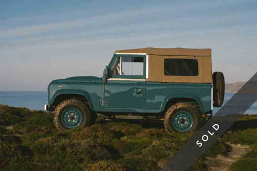 LAND ROVER D90 HERITAGE MARINE BLUE by UNIKATOO