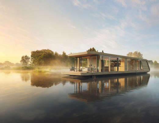 NATURECRUISER Hausboot - Die Wohnschiffmanufaktur und +31 Architects